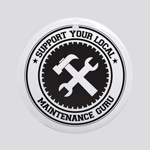 Support Maintenance Guru Ornament (Round)