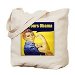 Up Yours Obama Tote Bag