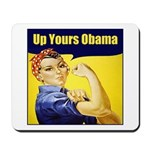 Up Yours Obama Mousepad