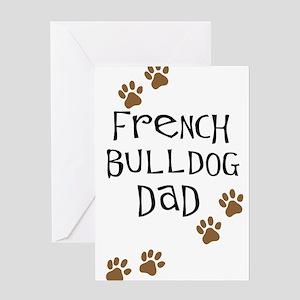 French Bulldog Dad Greeting Card
