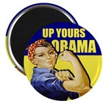 "Up Yours Obama 2.25"" Magnet (100 pack)"