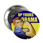 "Up Yours Obama 2.25"" Button (10 pack)"