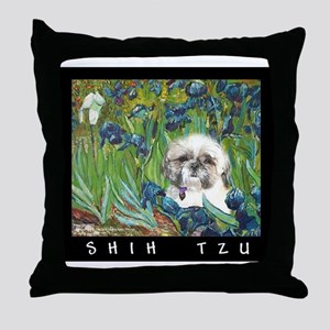 Shih Tzu Fine Art Samson Throw Pillow