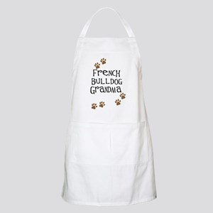 French Bulldog Grandma BBQ Apron