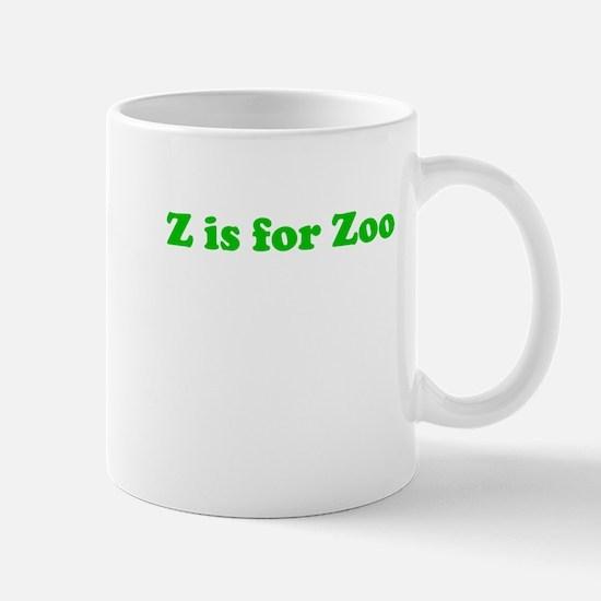 Z is for Zoo Mug