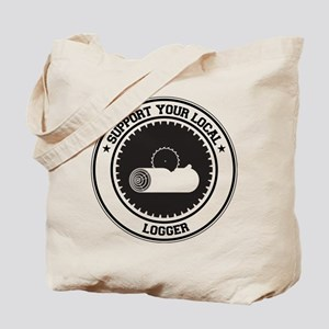 Support Logger Tote Bag