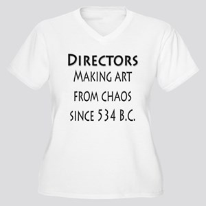 Art from Chaos Women's Plus Size V-Neck T-Shirt