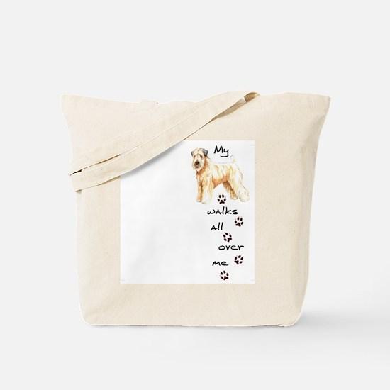 Wheaten Walks Tote Bag