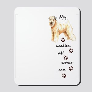 Wheaten Walks Mousepad