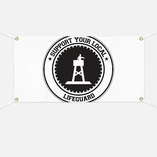 Support Lifeguard Banner
