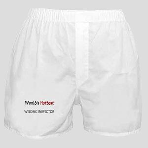 World's Hottest Welding Inspector Boxer Shorts