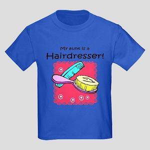 Hairdresser Aunt Kids Dark T-Shirt