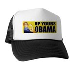 Up Yours Obama Trucker Hat