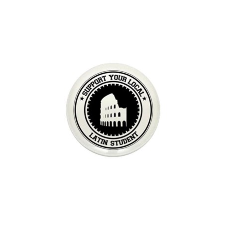 Support Latin Student Mini Button (10 pack)