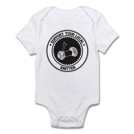 Support Knitter Infant Bodysuit