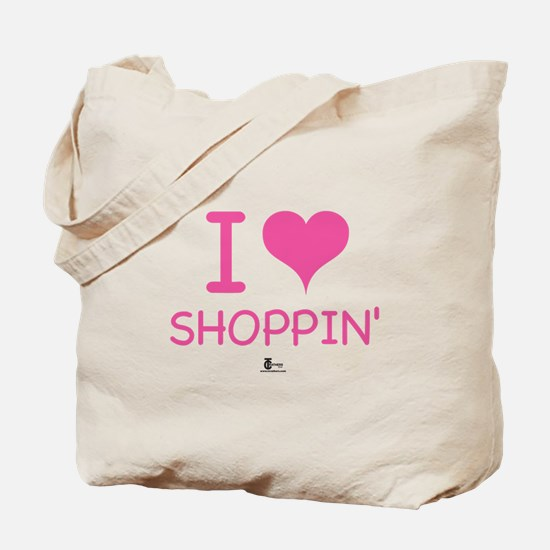 I Love Shoppin' Tote Bag