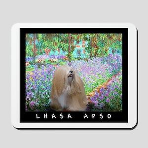 Lhasa Apso Fine Art Tygerlily Mousepad