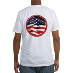 Hang Glider Pilot By Choice Fitted T-Shirt