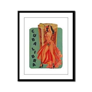 Cuba Libra Framed Panel Print