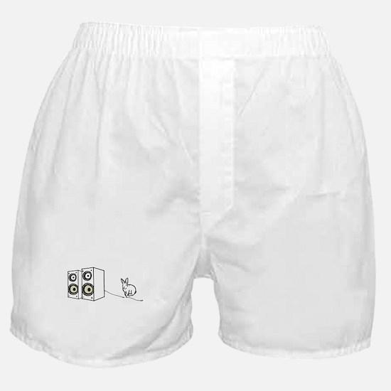 speaker bunny Boxer Shorts