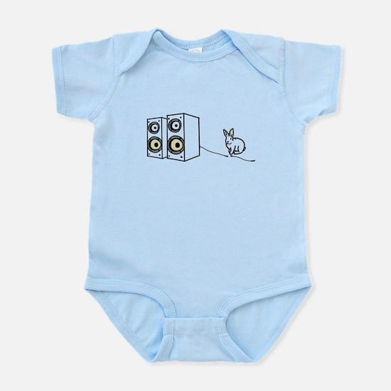 speaker bunny Infant Bodysuit