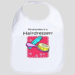 Hairdresser Grandma Bib