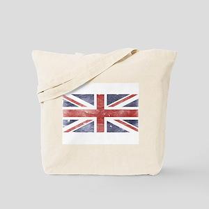 BRITISH UNION JACK (Old) Tote Bag