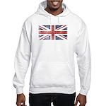 BRITISH UNION JACK (Old) Hooded Sweatshirt