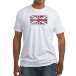 BRITISH UNION JACK (Old) Fitted T-Shirt