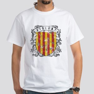 Catalonia White T-Shirt