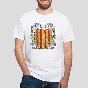 Catalonia White T-Shirt
