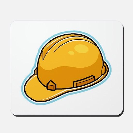 Hard Hat Mousepad