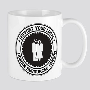 Support Human Resources Person Mug