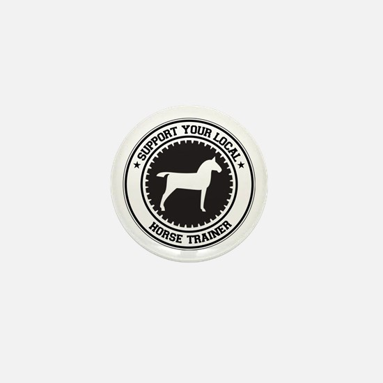 Support Horse Trainer Mini Button