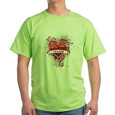 Heart Islam Green T-Shirt
