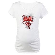 Heart Islam Maternity T-Shirt