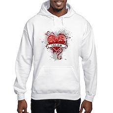 Heart Islam Hooded Sweatshirt
