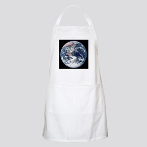 Earth From Moon BBQ Apron