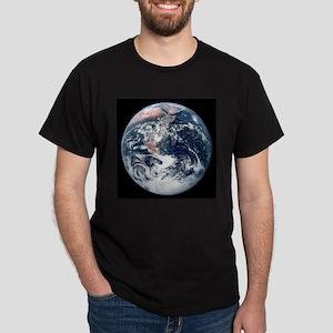 Earth From Moon Dark T-Shirt