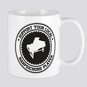 Support Harpsichord Player Mug