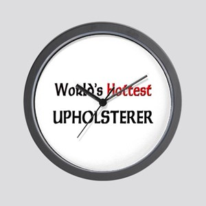 World's Hottest Upholsterer Wall Clock