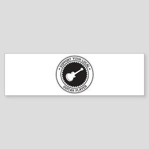 Support Guitar Player Bumper Sticker