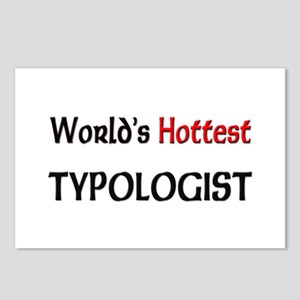 World's Hottest Typologist Postcards (Package of 8