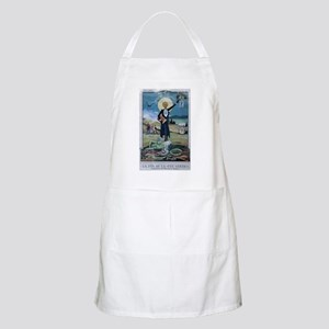 The End of the Green Fairy BBQ Apron