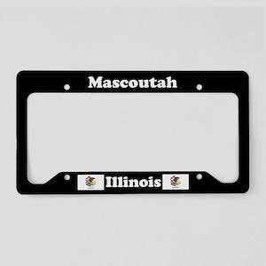 Mascoutah, IL License Plate Holder