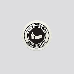 Support Funeral Director Mini Button