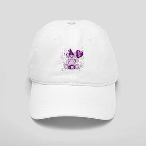 BIRTHDAY AGE: 1 (purple) Cap