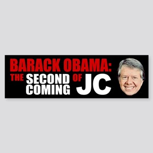 Second Coming of Jimmy Carter Bumper Sticker