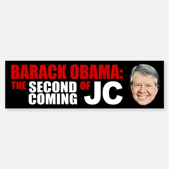 Second Coming of Jimmy Carter Bumper Stickers