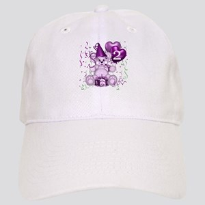 BIRTHDAY AGE: 2 (purple) Cap
